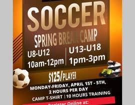bishalchandra tarafından URGENT Flyer Design for Spring Break Soccer Camp için no 32