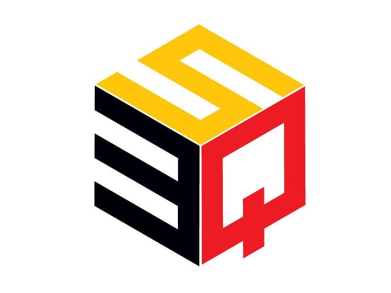 Kilpailutyö #                                        91                                      kilpailussa                                         Logo Design for 3SQ