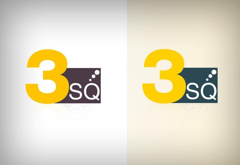 Kilpailutyö #                                        88                                      kilpailussa                                         Logo Design for 3SQ
