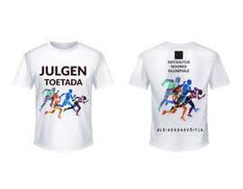 nº 126 pour Attention-grabber sports T-shirt for sports charity par banglaamarmog96