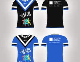 nº 66 pour Attention-grabber sports T-shirt for sports charity par color78