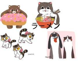 #13 for Cute Animal Characters Illustration by valeriapotaichuk