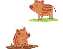#33 for Cute Animal Characters Illustration by clagot