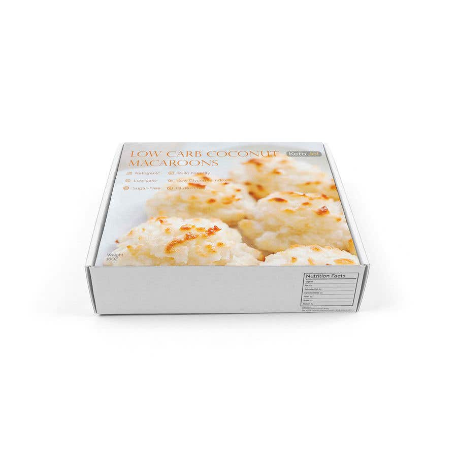 Entry 9 By Anwaarqayyum77 For Packaging Design For A Box Of Coconut Macaroons Freelancer