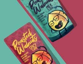 Nro 5 kilpailuun Food packaging design käyttäjältä andreasaddyp