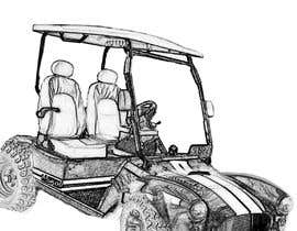rastisheikh7 tarafından Photoshop & Art create pic of High performance retro golf cart için no 7