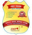 Graphic Design Inscrição do Concurso Nº35 para Graphic Design for US chicken label to be placed on bagged chicken