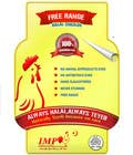 Graphic Design Inscrição do Concurso Nº47 para Graphic Design for US chicken label to be placed on bagged chicken