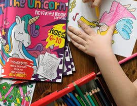#6 cho Unicorn Activity Book Cover Ages 6-10 (Book 2) bởi AtlassDZ