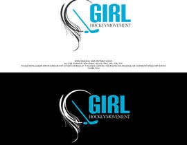 nº 16 pour Girl Hockey Logo par athinadarrell