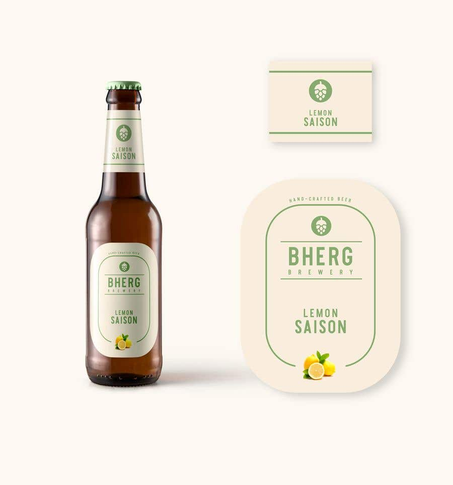 Proposition n°                                        12                                      du concours                                         Design a label for a beer bottle