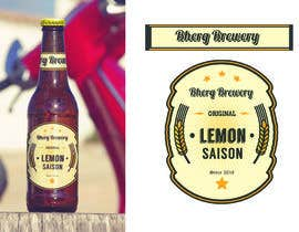 nº 34 pour Design a label for a beer bottle par prayasdesign