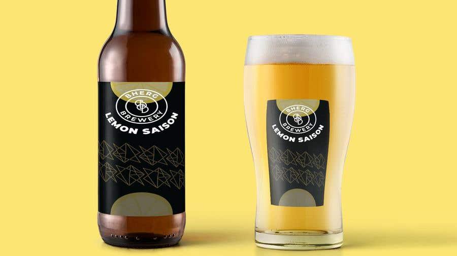 Proposition n°                                        38                                      du concours                                         Design a label for a beer bottle