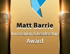 #21 for Design a trophy or plaque for the Matt Barrie Innovation and Leadership Award by femolacaster