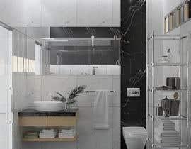 Nro 42 kilpailuun Small Bathroom Design käyttäjältä mmezz123