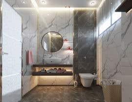 Nro 74 kilpailuun Small Bathroom Design käyttäjältä nehalhasemnh