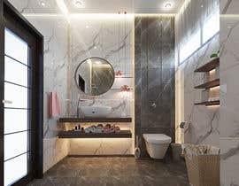 Nro 79 kilpailuun Small Bathroom Design käyttäjältä nehalhasemnh