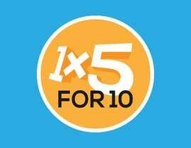 #188 for 1x5 For 10 Logo by rubengranadillo