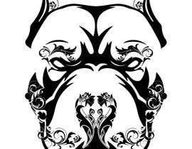 nº 6 pour Sugar Skull Pitbull Design par Joseantoniop04