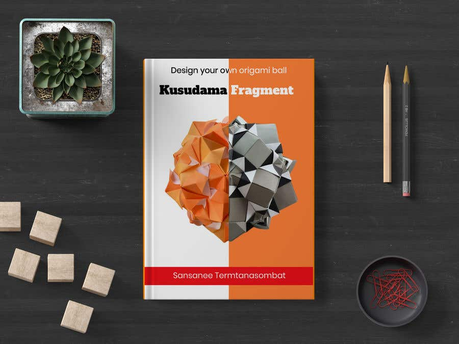 Kilpailutyö #43 kilpailussa Design kusudama book cover