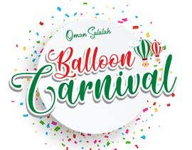 #603 for Creative logo needed for a Balloon Carnival by salimzymeth