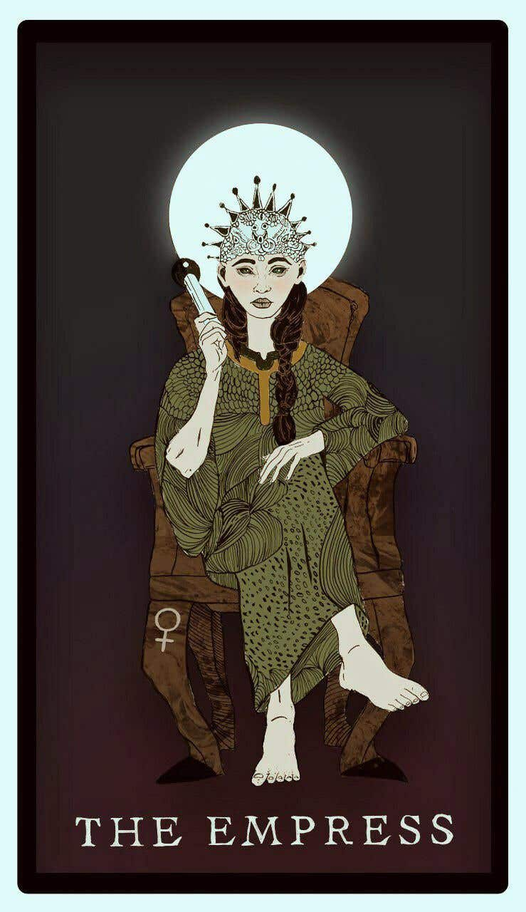 Proposition n°55 du concours Illustrate tarot card graphics