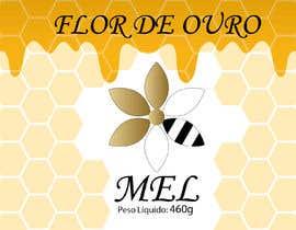 #12 para Rótulo para pote de mel FLOR DE OURO por mrsi
