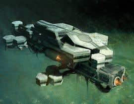 #36 for Concept Art for sci-fi base building game af AndreiiDragomir