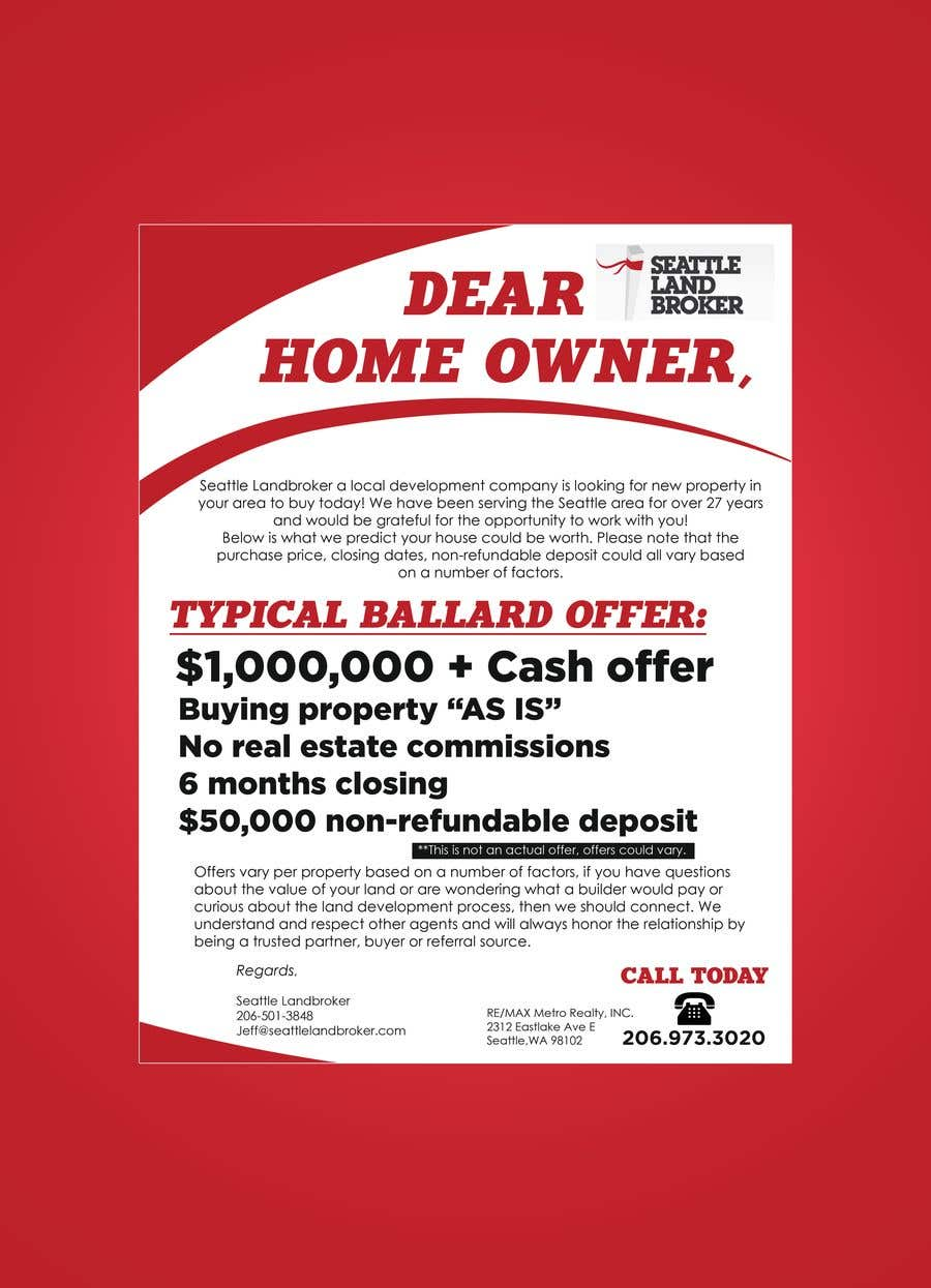 Entry #6 by Reffas for Create Flyer Real Estate | Freelancer