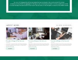 Nro 17 kilpailuun New One-Page (Scrolling with Paralax) Website Contest! käyttäjältä saidesigner87