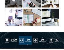 #18 para Social Media Marketing Agency Web site Mock Up por saidesigner87