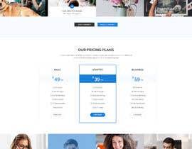 #1 para Social Media Marketing Agency Web site Mock Up por masuqebillah