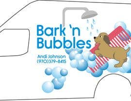 #25 para Bark n' Bubbles Logo and Van Graphics por manikmoon