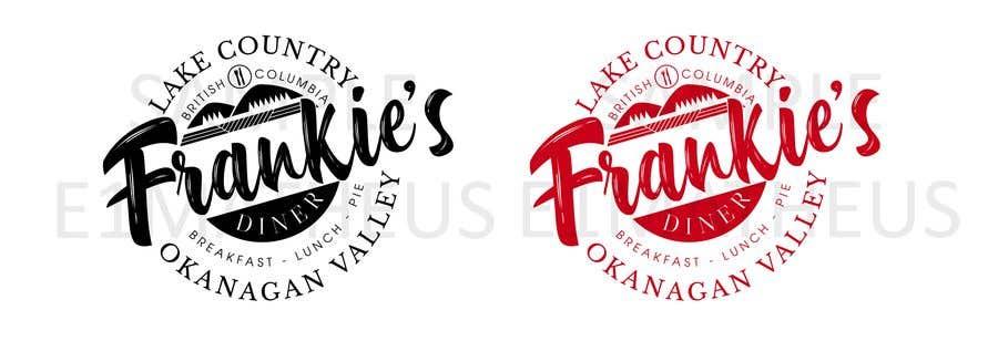Penyertaan Peraduan #76 untuk Frankie's Diner Logo