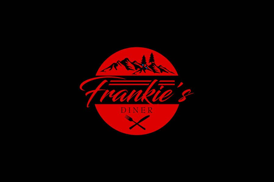 Penyertaan Peraduan #108 untuk Frankie's Diner Logo