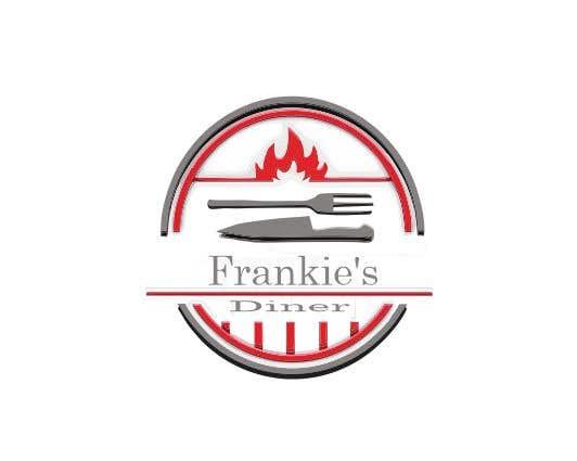 Penyertaan Peraduan #164 untuk Frankie's Diner Logo