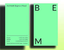 #1059 cho Architects business card bởi mdhafizur007641