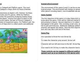 Nro 14 kilpailuun Make Innovative Game Design Document käyttäjältä ChinChinati