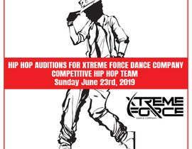 nº 1 pour Hip Hop Flier For Auditions par MVgdesign