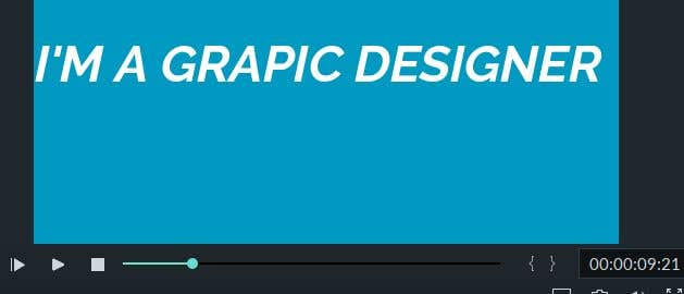 Penyertaan Peraduan #4 untuk Graphic Designer Motion Resume