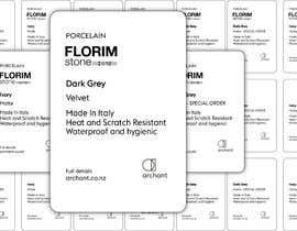 #6 for Labels for Stone Display Cabinet be designed - Potential for Continued Work af mdmokibur