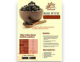 #11 para Poster design for Wellcure - rise with raisins por tsanjeev6252