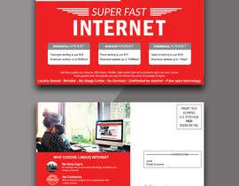 #31 for Create a stunning and mind blowing new marketing postcard for our Rural Internet Service by risfatullah