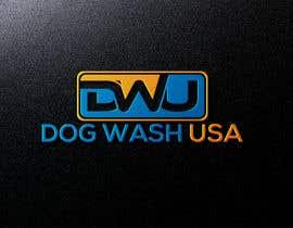 nº 62 pour Logo Dog Wash USA par aktaramena557
