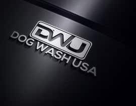 nº 64 pour Logo Dog Wash USA par aktaramena557