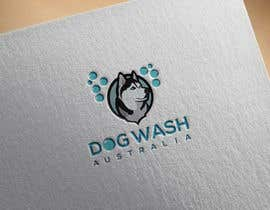 nº 123 pour Dog Wash Australia Logo par mdatikulhasan0