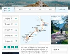 LahlobY tarafından Design a website for walks & hikes in New Zealand için no 8