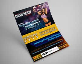 #8 for Design a Flyer for a Hollywood Fitness Party af GetMeHire