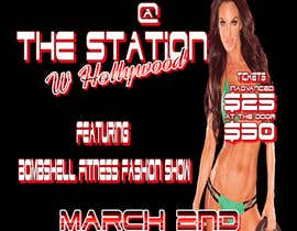 #15 for Design a Flyer for a Hollywood Fitness Party by EyekkonPro