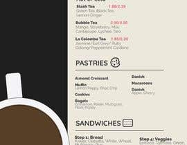 Hadaxation tarafından I need menus asap for my study cafe. First pic with a chart is the items of our menu. Then logos. Then the examples of the ones I liked the design of, which doesn't have to be that way. I look forward to continue working with someone long term. Thank you. için no 24